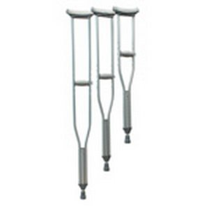 Lumex 3611lf-8 Universal Aluminum Lightweight Adult Tall Crutches