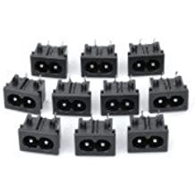Alcoa Prime AC 250V Power Socket Inlet (10 Pcs In One Package, The Price Is For 10 Pcs)