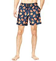 Blue Harbour Shell Print Swim Shorts