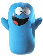 Buy Low Price Mattel Cartoon Network Smack n' Yak Plush Figure Bloo (B000NW3YVW)
