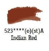 Daler Rowney Aquarellfarbe 1/2 Napf Indian Red 523
