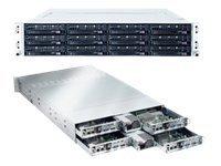 Server Barebone - Rack-mountable - Ethernet;fast Ethernet;gigabit Ethernet - Pow