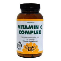 Country Life Vitamin C Complex (With Bioflavonoids and rutin)