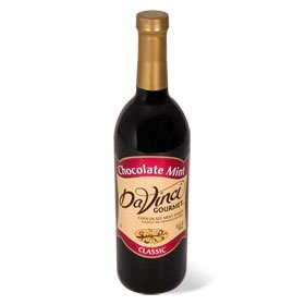 Da Vinci Chocolate Mint Syrup, 750 Ml Bottle (Glass)