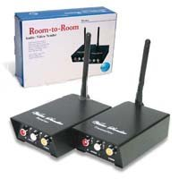 Bada 2.4Ghz Wireless Long Distance A/V Sender Transmitter & Receiver (4 Channel)