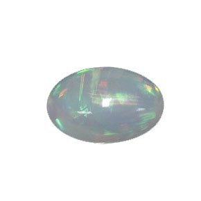 Goldcraft Mintable Jelly Opal Loose Gemstone Oval Cabochon 6 X 4Mm
