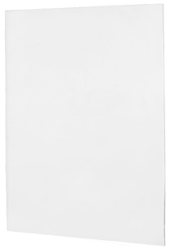 Swanstone SS-6072-1-010 Single Panel Shower Wall, White Finish