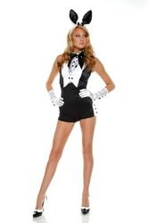 Women's Costume: Bunny Plush- Small/Medium