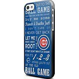 Chicago Cubs Take Me Out To The Ball Game for Iphone and Samsung Galaxy Case (iPhone 5C black) (Baseball Samsung Galaxy S3 Case compare prices)
