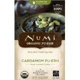 Numi Organic Cardamom Puerh Tea Bags, 16 Count - 2 Pack