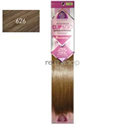 Clip & Go 6 Pieces Clip In Human Hair Extension 14 Inches