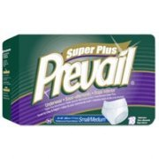 "Prevail Underwear Super Plus Absorbency, Small/Medium Fits 34""-46"" Waist - 18 Ea/Pack, 4 Pack from Prevail"