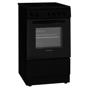 Montpellier MSE50K 50cm Single Cavity Electric Cooker in Black