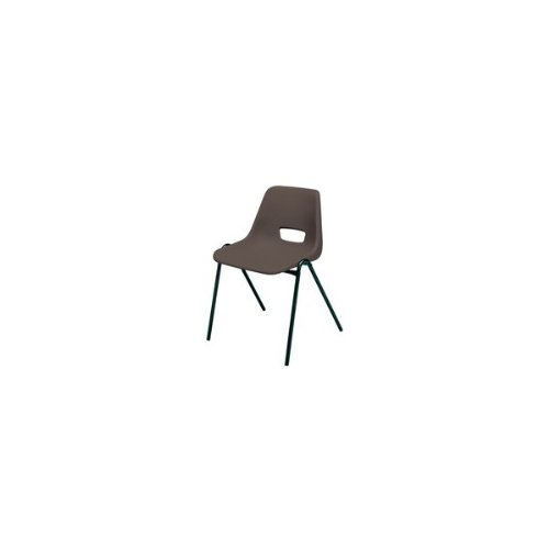 FF Jemini Chair Stacking Pp Charcoa L
