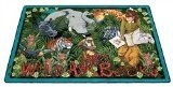 "Joy Carpets Kid Essentials Language & Literacy Wild About Books Rug, Multicolored, 7'8"" x 10'9"""