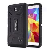 Poetic Revolution Rugged Hybrid Case for Samsung Galaxy Tab 4 7.0 White