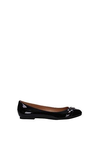 Ballerine Armani Jeans Donna Pelle Nero Z55D53312 Nero 35EU
