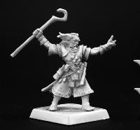 Ezren, Iconic Male Human Wizard Pathfinder Series Miniatures - 1