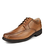Airflex™ Leather Extra Wide Fit Tramline Lace Up Shoes