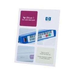 HP Q2001A Étiquettes à code-barres pour HP Ultrium 1 Lot de 100 (Import Royaume Uni)