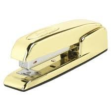Swingline 747 Gold Stapler - Limited Edition