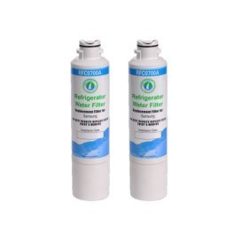 2 Pack Rfc-700A Compatible Water Filter For Kenmore 46-9101,469101,9101;Samsung Da-97-08006A,Da-97-08006A-B,Da-97-08006B,Da29-00019A,Da29-00020A,Da29-00020B,Da2900019,Da2900020A,Da2900020B,Da97-08006A-B;Haf-Cin;Haf-Cin-Exp;Haf-Cinexp;Hafcin front-581197