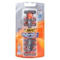 BIC-Hybrid-Advance-for-Men-Shaver-System-6-ea