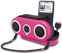 iHome iH13 Portable Protective Speaker Case for iPod (Pink)