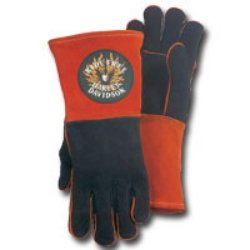 Harley Davidson Ride Free Welders Glove Extra Large (UVXHDPFWLD-BK/OR-XL) Category: Welding Gloves and Clothing