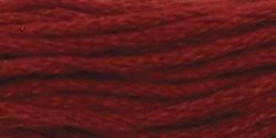 Coats & Clark Six Strand Embroidery Floss 8.75 Yards Garnet Dark C11-3044; 24 Items/Order