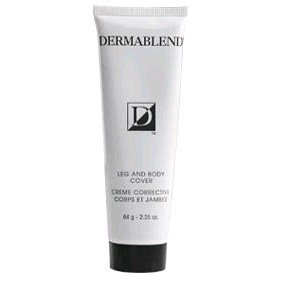Leg and Body Cover Corrective Cream by Dermablend, 2.25oz Golden