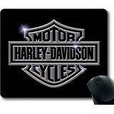 Popular-Mouse-Pad-with-Harley-Davidson-Logo-5-Non-Slip-Neoprene-Rubber-Standard-Size-9-Inch220mm-X-7-Inch180mm-X-18-Inch3mm-Mousepads