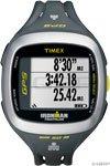 Timex Unisex T5K745 Ironman Run Trainer 2.0 GPS Speed+Distance Gray/Green Watch