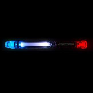 Red White Blue Streetlight Max Flashing Led Light Stick