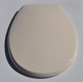 Whisper Cream Buxton Plastic Toilet Seat Kitchen Home