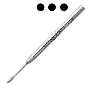 Caran d'ache - Recharge noir large pour stylos Bille Caran d'ache