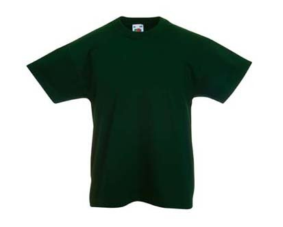 Kinder T-Shirt Valueweight; Grün,164 164,Gr?n