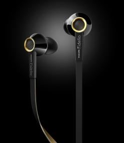 Philips Fidelio S2 Black Headphones