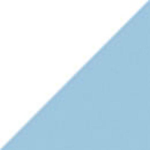 Цвет: Белый/baby голубой
