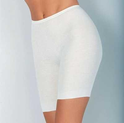 Medima Classic Damen-Schlüpfer lang Plus Seide weiß – Größe L günstig