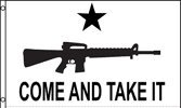 M4 Gonzales Come and Take it Texas Historical flag 3x5 foot