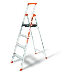 Little Giant 15270-001 Flip-N-Lite 300-Pound Duty Rating Platform Stepladder, 6-Foot