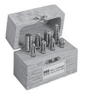 SGS Tool Company 18211 Bur Set 6 D/C Carbide Bur 1/4 Shank Diameter