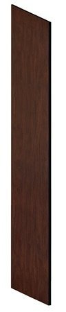 End Panel, Slope Top, D21 X H78, Mahogany front-586156