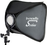 Interfit STR127 Strobies Folded Softbox (24-Inch x 24-Inch)
