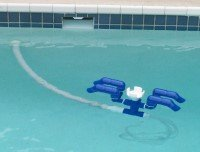 Strider Ss Automatic Pool Skimmer And Cleaner