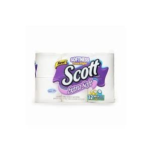 Scott Bath Tissue 12 pk