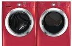 Frigidaire Affinity Red Front Load Steam Washer & Electric Steam Dryer FAFS ....