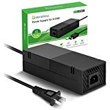 BeneGlow Ultra-quilt Low Noise Xbox One Power Supply, AC Adapter Replacement Charger for Xbox One (Color: Black, Tamaño: One Size)