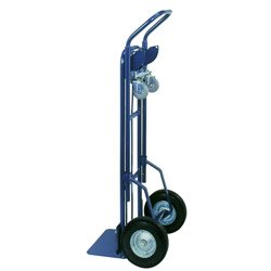 Blue Green 2 in 1 Convertible Hand Truck